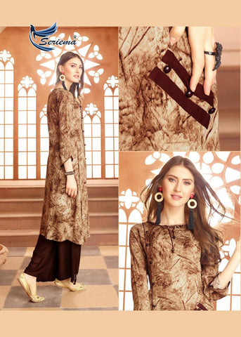 Seriema Kumb Iconic Beautifully Designed Classic Trendy Fits Kurties