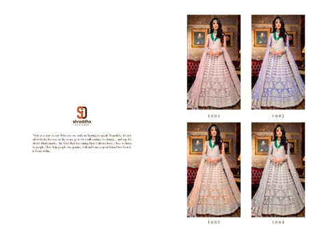Shraddha Designer Sobia Nazir Vol 4 Wedding Designer Stylish Collection