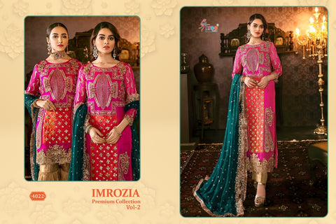 Shree Fabs Imrozia Premium Collection Vol 2 Geogette Pakistani Collection Wear