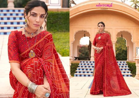 VARSIDDHI MINTORSI PRESENTS GUN GUN SATIN SAREE COLLECTION