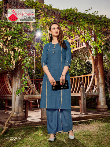 Watermelon Clothing Mehar Attractive Style Kurti Collection