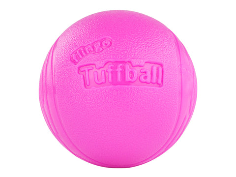 Red Dingo Flingo Tuffball, Solid Gummibold 2 Stk. Pink