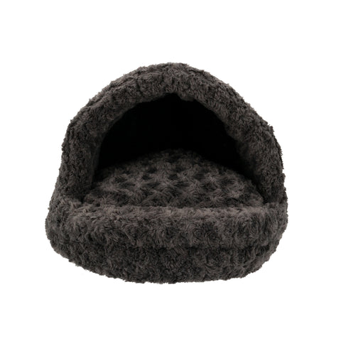 Hundeseng Supersoft Igloo, Mørkegrå