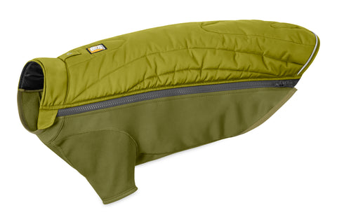 Ruffwear New Powder Hound Jakke, Forest Green