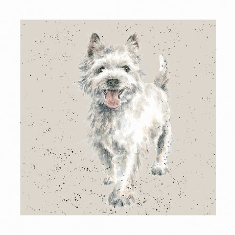 Wrendale Kort med Konvolut, West Highland Terrier