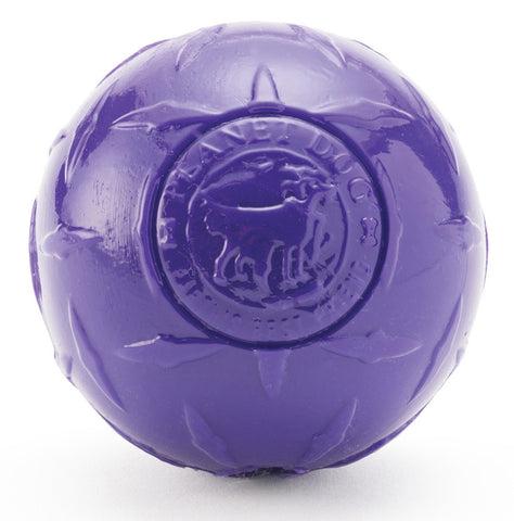 Planet Dog Orbee-Tuff, Diamond Plate Ball JUMBO, Lilla