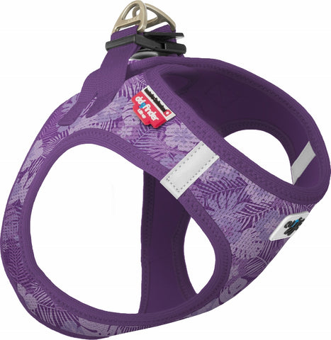 Limited Edition Curli Step-In Hundesele i Blødt Air-Mesh Stof, Aloha Lilac