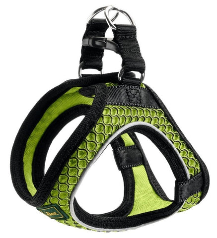 Hunter Hundesele Hilo Comfort, Step-In Sele. Lime
