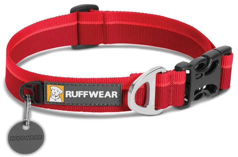 Ruffwear Hoopie Halsbånd, Red Currant