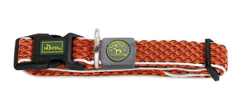 Hunter Hundehalsbånd Hilo Comfort, Orange