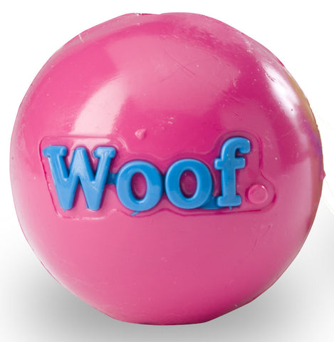Planet Dog Orbee-Tuff, Woof Ball, Pink SPAR 15%