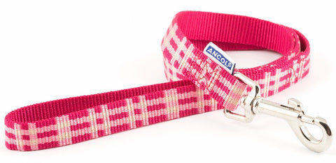 Nylon Line Candy Check, Pink