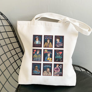 Cartoon Tote Bag Reusable canvas bag | Magoniasocialclub