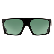 Óculos de Sol Evoke Shift Big A12 Black Matte Light Gold/ Green Total Lente 5,9 cm