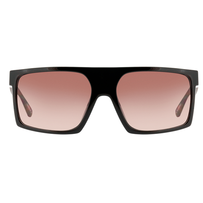 Óculos de Sol Evoke Shift Big A21 Black Shine Turtle Matte/ Black Brown Lente 5,9 cm