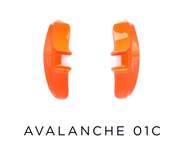 Evoke Side Block Avalanche - 01C Orange Fluor