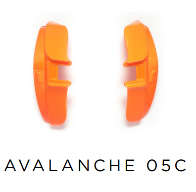 Evoke Side Block Avalanche - 05C Orange