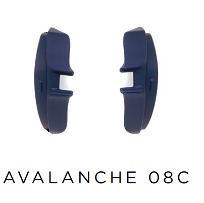 Evoke Side Block Avalanche - 08C Blue Oil