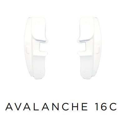 Evoke Side Block Avalanche - 16C White