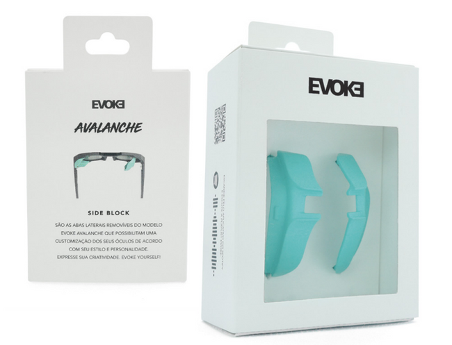 Evoke Side Block Avalanche - Preto