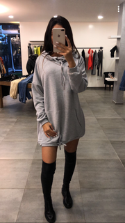 Sweat Xtra large gris