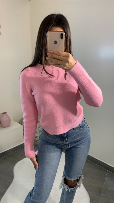 Pull doux [ rose ]