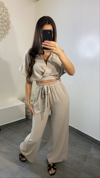 Ensemble Midi [ beige ]
