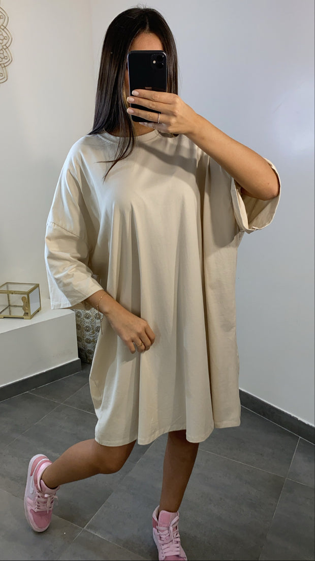 T-SHIRT LARGE [ beige ]