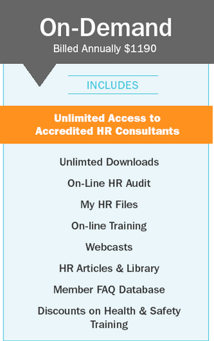 On-Demand Annual HR Subscription