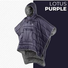 Load image into Gallery viewer, Sleeping Bag Hoodie Poncho
