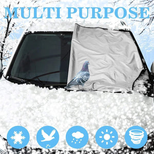 Magnetic Windshield Snow Cover Sunshade