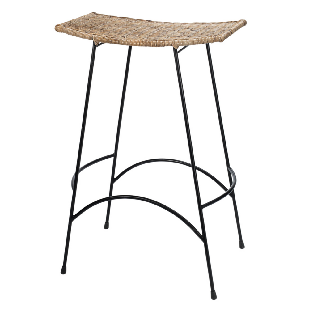 WING RATTAN BAR STOOL