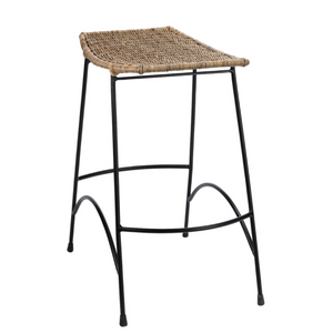 WING RATTAN COUNTER STOOL