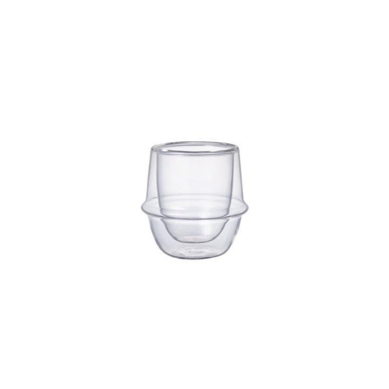 KRONOS DOUBLE WALL ESPRESSO CUP  80ML / 3OZ