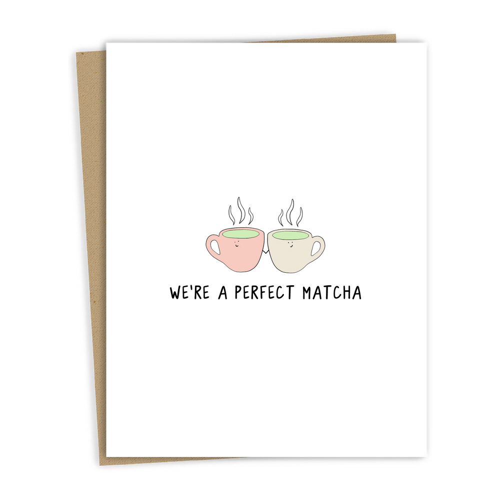 PERFECT MATCHA CARD