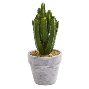 "Load image into Gallery viewer, 8"" CACTUS ARTIFICIAL PLANT, SET OF 3"