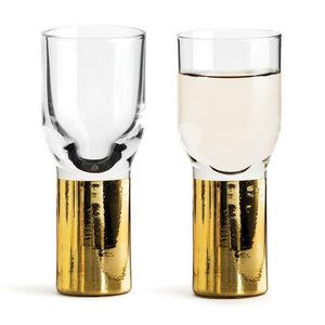 Load image into Gallery viewer, CLUB GOLD SHOT GLASS, 2 PACK