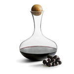 NATURE WINE CARAFE WITH OAK STOPPER