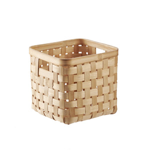 Load image into Gallery viewer, BAHMI™ WOVEN BAMBOO STORAGE BASKET