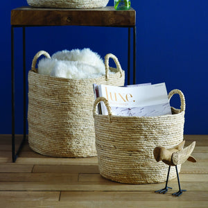 MAIZ™ BASKET WITH HANDLES