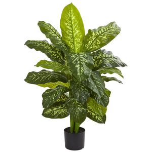 "Load image into Gallery viewer, 42"" DIEFFENBACHIA ARTIFICIAL PLANT"