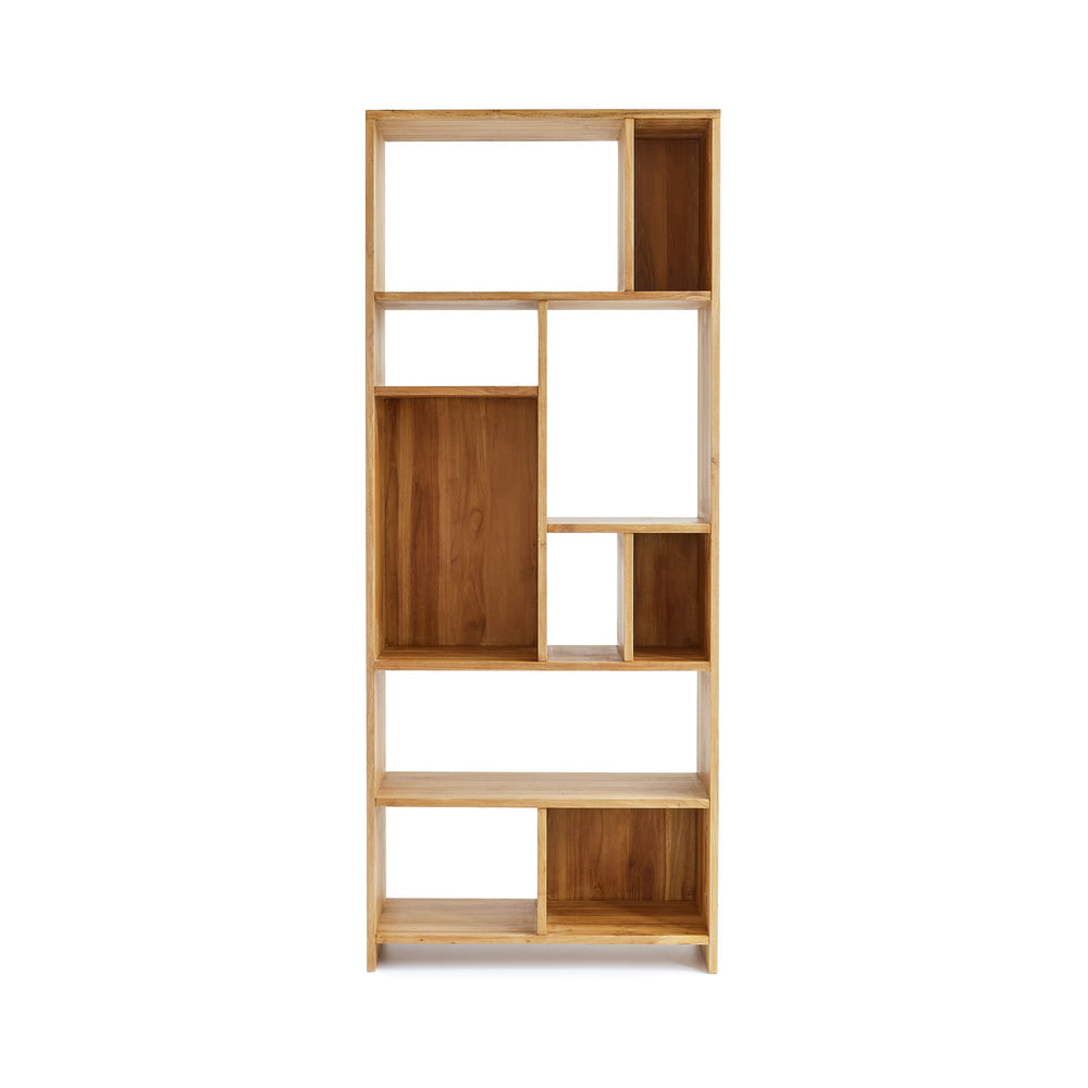 Load image into Gallery viewer, BERGAMO TEAK SHELVING UNIT