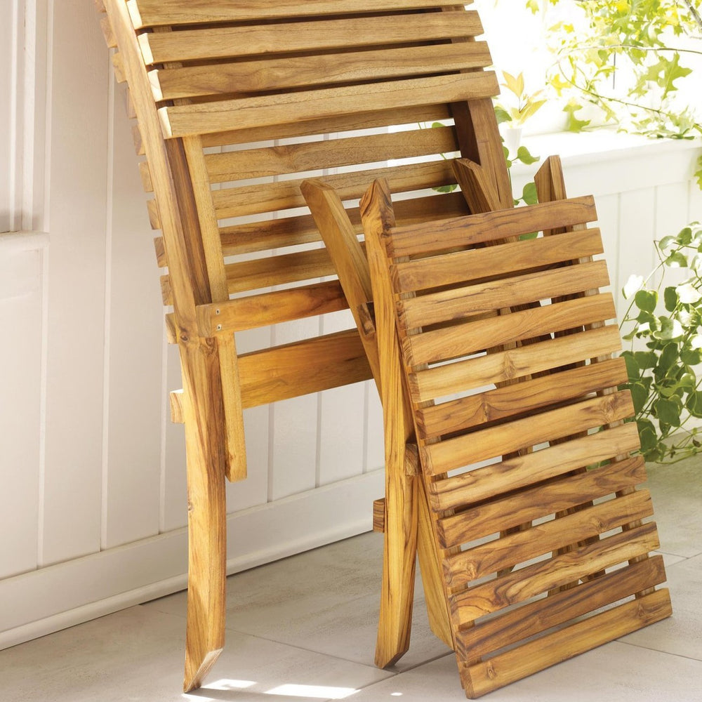 Load image into Gallery viewer, BARCELONA™ TEAK BEACH CHAIR