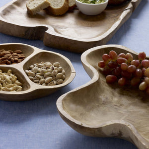 "Load image into Gallery viewer, TAKARA™ TEAK TRAY, 28"" x 16"""