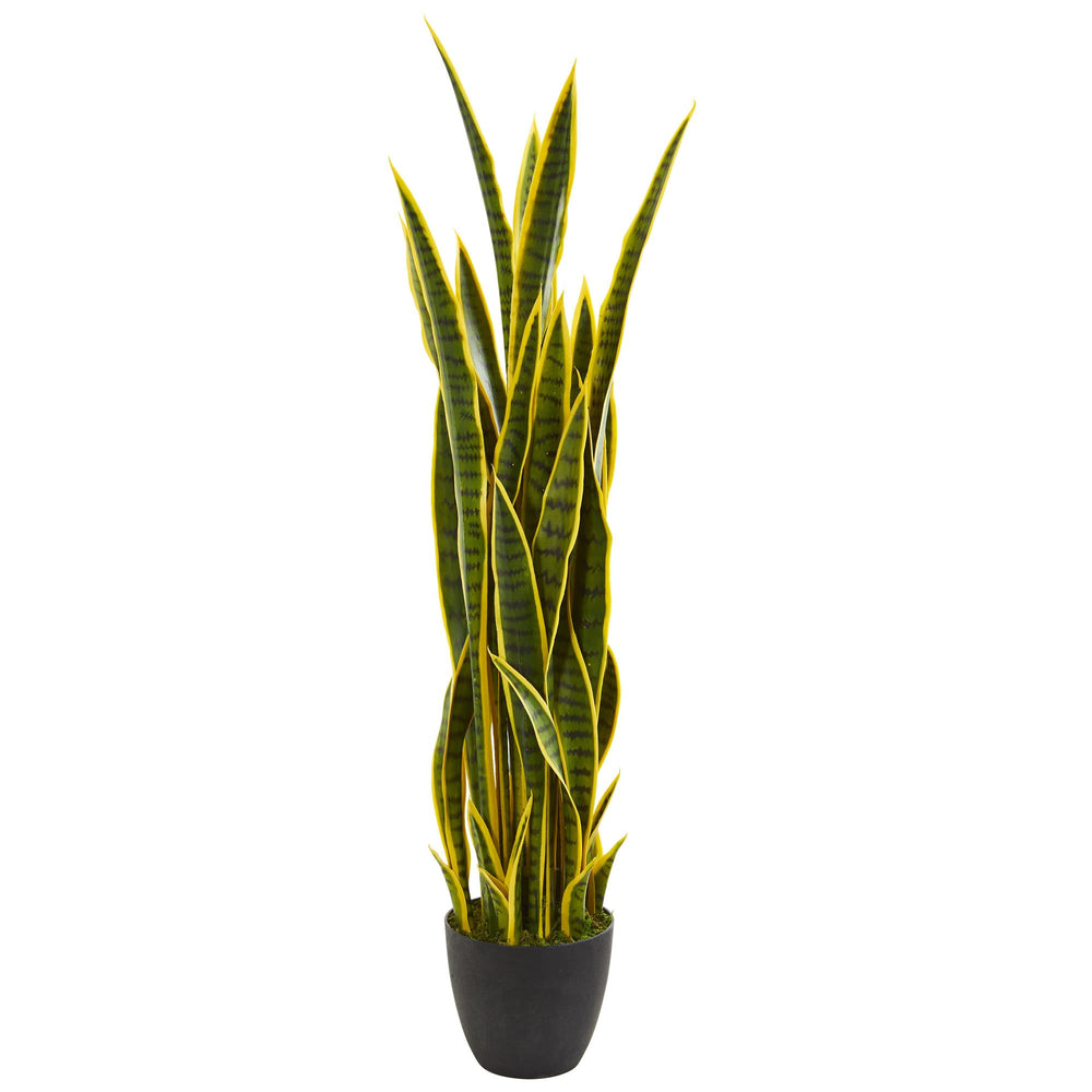 Load image into Gallery viewer, 4' SANSEVIERIA ARTIFICIAL PLANT