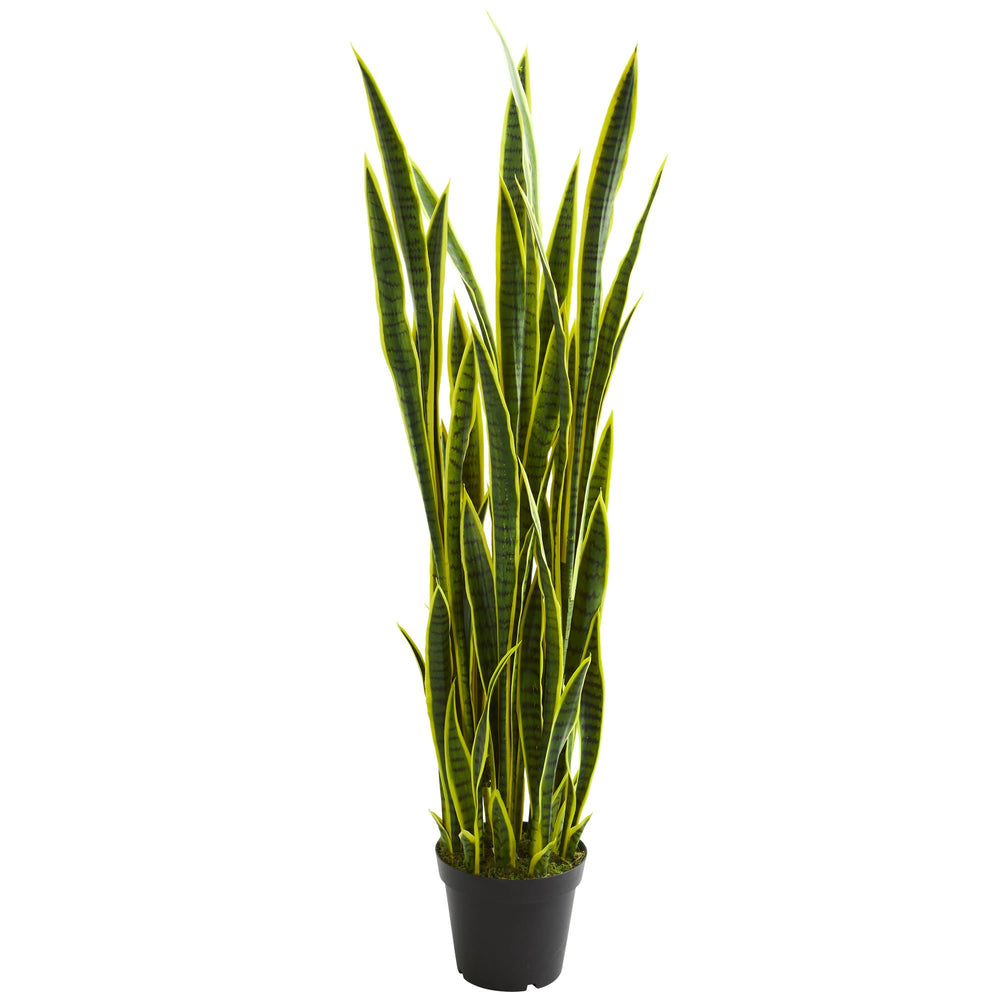 Load image into Gallery viewer, 5' SANSEVIERIA ARTIFICIAL PLANT