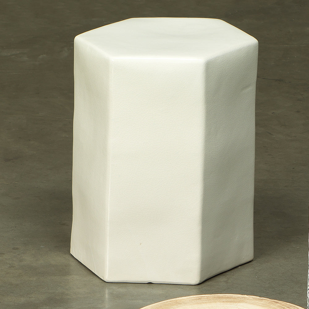 CERAMIC PORTO SIDE TABLE, SMALL