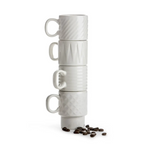 COFFEE & MORE ESPRESSO CUP SET, 4 PACK