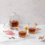 ADMIRAL™ 3-PIECE DECANTER & TUMBLER SET BY VISKI®