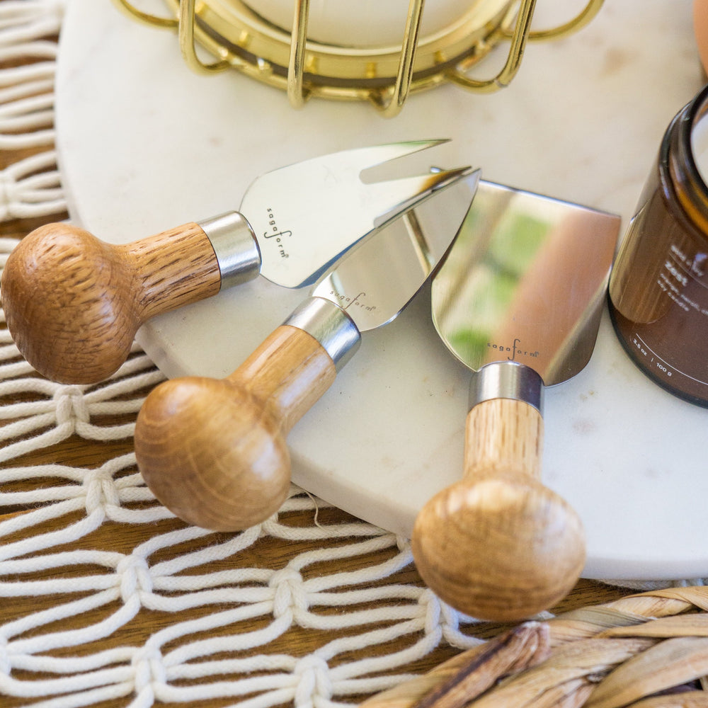 NATURE CHEESE KNIFE SET